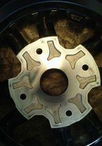 14 inch black aluminium wheel image 3