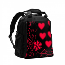 Adult Diaper Bags Hearts Ornament Romantic Love Texture Diaper Bag Large... - $42.00