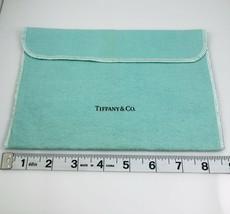 Authentic Tiffany & Co Extra Large Jumbo Blue Felt Storage Pouch - $24.50