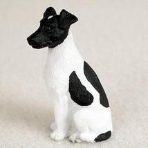 Conversation Concepts Fox Terrier Black & White Tiny One Figurine - $9.99