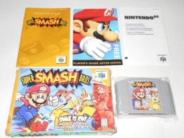 Nintendo64  SUPER SMASH BROS.  Overseas ed. TV game with box & Instructi... - $439.98