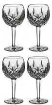 Waterford LISMORE Balloon Wine Glass 8oz (4) Four Glasses New #156516 - $323.98