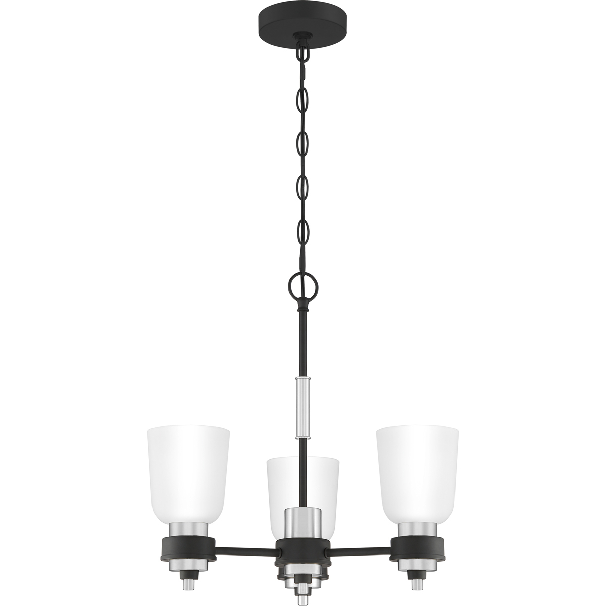 Primary image for Conrad 3-Light Chandelier in Brushed Nickel