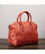 Sale, Full Grain Leather Women Handbag, Fashion Satchel Bag - $115.00