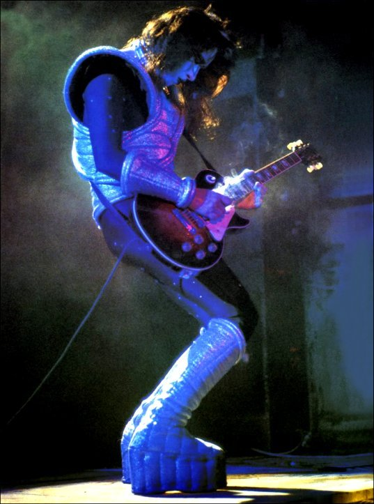 Primary image for Ace Frehley KISS Rock Band Custom Stand-Up Display - Destroyer Love Gun Les Paul