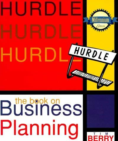 Hurdle:  The Book on Business Planning Berry, Tim