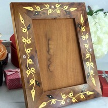 Set of two Thuya wooden photo frames holder, Moroocan Craft thuya pictur... - $89.85