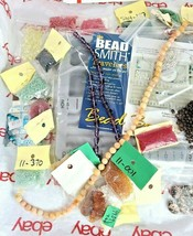 JEWELRY MAKING DIY BEAD BOARD, BEADS & BEADING MATERIAL See Photos (Bx5) image 2
