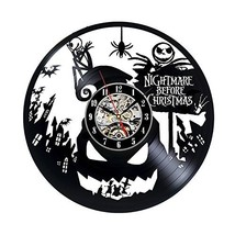Nightmare Before Christmas Jack Disney Cartoon Vinyl Record Design Wall ... - $44.52