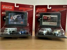 COCA-COLA Johnny Lightning Billboards Collection - Complete Set Of 2 - 2003 - $39.60