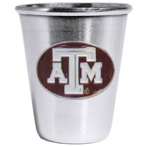 NCAA - Texas A & M Aggies Steel Shot Glass  - $24.99