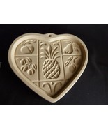THE PAMPERED CHEF Hospitality Heart Cookie Mold  - FAMILY HERITAGE STONE... - $6.70