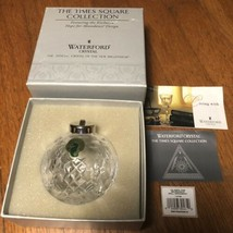 Waterford Crystal Hope for Abundance Time Square 2001 Ornament - $29.00