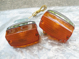 Suzuki FR50 FR80 FR80N Front Winker Turn Signal Lamp New (1 Pair) - $9.79