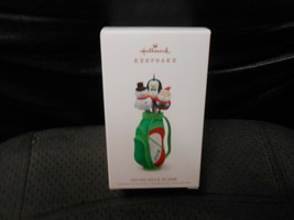 "Hallmark Keepsake ""Ho-Ho-Hole In One"" 2018 Ornament NEW - $5.84"