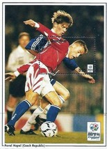 GAMBIA 1996 FOOTBALL EURO CUP/Pavel Hapal  S/S MNH   SPORTS - $1.24