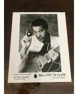 Vintage Melvin Taylor & The Slack Band Promotional Glossy Press Photo 8x10 - $8.00