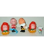 The Peanuts Movie 2015 Mcdonalds Happy Meal  Snoopy Charlie Brown  lot of 5 - $7.91