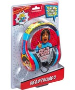 eKids - Ryan's World Wired On-Ear Headphones - Yellow/Red/Blue/Black - $31.98