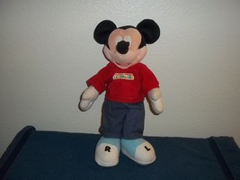 CLUBHOUSE MICKEY MOUSE PLUSH DOLL - 14 INCHES TALL  - $6.99