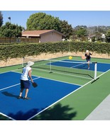 UBesGoo 22ft x 3ft Pickleball Net Set System, Portable Tennis Net, Includes - $98.99