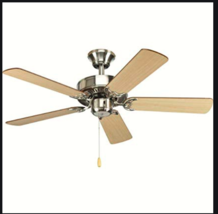 Progress Lighting P2500-09 42-Inch Fan with 5 Blades with Reversible Cherry/Natu - $76.23