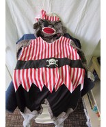 2 Piece Pirate Sock Monkey Size 4T Costume - $28.77