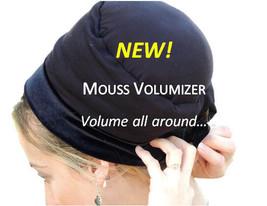 Black MOUSSE Volumizer All In One Hat Boubou Bobo Great under Tchel Head... - $55.43