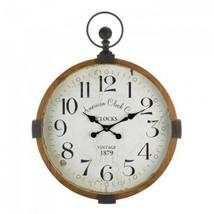 Vintage Industrial Wall Clock - $80.99