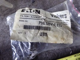 Eaton Vickers Filter Accessory PHE5BVHL115 NEW image 2