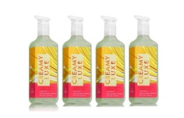 4 Bath & Body Works Iced Guava Green Tea Creamy Luxe Hand Soap  - $32.50
