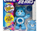 "Care Bears Blue Grumpy Bear (Cloud) 5"" Interactive Toy Figure & Collector Coin"
