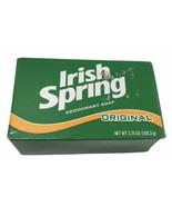 Vintage Original Irish Spring Deodorant Soap 1 Bar Bath Size 3.75oz - $9.48