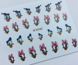 Bang Store Nail Art 3D Decal Stickers Girl & Boy Duck Cartoon Funny Cute - $3.16