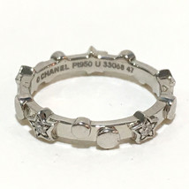 CHANEL Diamond Comet-Damur jewelry Ring 47 Platinum Pt950/Diamond - $1,270.00