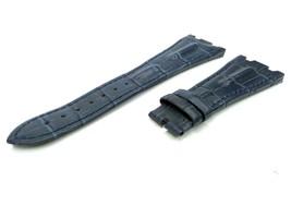28mm Navy/Blue Real Leather Watch Strap For Audemars Piguet Royal Oak Offshore - $41.94
