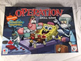Spongebob Squarepants Operation Board Game Hasbro Nickelodeon 2014 - $16.42