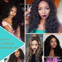 Maxine Brazilian Virgin Hair 1 bundle Water Wave Hair Wet and Wavy Water Weave H image 10