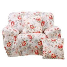 George Jimmy Fashion Single Person Sofa Slipcovers Modern Style Couch Covers-Flo - $42.78