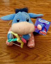 "Disney Winnie the Pooh Baby Eeyore Plush Cupid Heart 6"" Fisher Price 200... - $7.99"