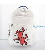 NWT Kipling KI6498 Keith Haring Seoul Backpack Laptop Travel Bag Public Art $154 - $138.95