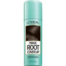 L'Oreal Paris Gray Concealer Spray, Magic Root Cover Up, Dark Brown, 2 oz. - $6.48