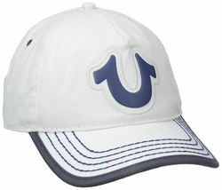 True Religion Men's Cotton HorseShoe Adjustable Baseball Trucker Hat Cap TR1989 image 12