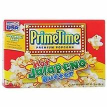 PRIME TIME POPCORN JALEPENO - 2 Boxes----Each  Box Is 1 X(0.408LB) - $4.25