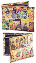 Superman Wallet Classic Comic Art Bioworld image 2