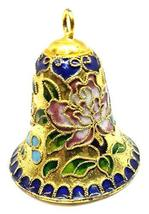 Home For ALL The Holidays Cloisonne Enamel Decorative Bell 2 inches (13) - $23.76