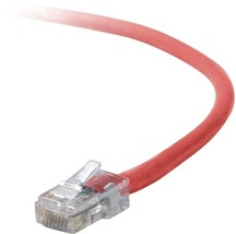 Belkin Cat5e Patch Cable, 100ft, 1 x RJ-45, 1 x RJ-45, Red networking cable 30.4 - $45.31