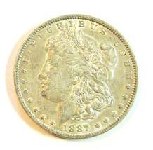 1887 P MORGAN SILVER DOLLAR  (UNC)  MS++ #200223 - $54.45