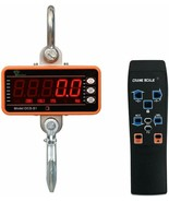 Hyindoor Scale With Hook 1102.3lbs Digital Crane Screen LED And Remote C... - $370.72