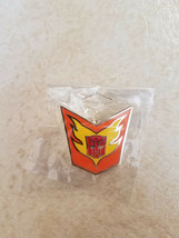 "NEW Hasbro 2016 BotCon Transformers G1 Rodimus Hot Rod Lapel Pin 1""x1"" - $19.89 CAD"